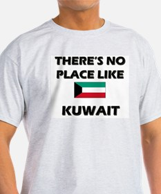 There Is No Place Like Kuwait Ash Grey T-Shirt