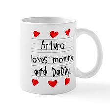 Arturo Loves Mommy and Daddy Mug