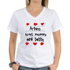 Arturo Loves Mommy and Daddy Shirt
