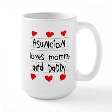Asuncion Loves Mommy and Daddy Mug