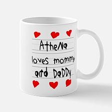 Athena Loves Mommy and Daddy Mug