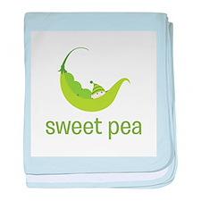 Sweet Pea baby blanket