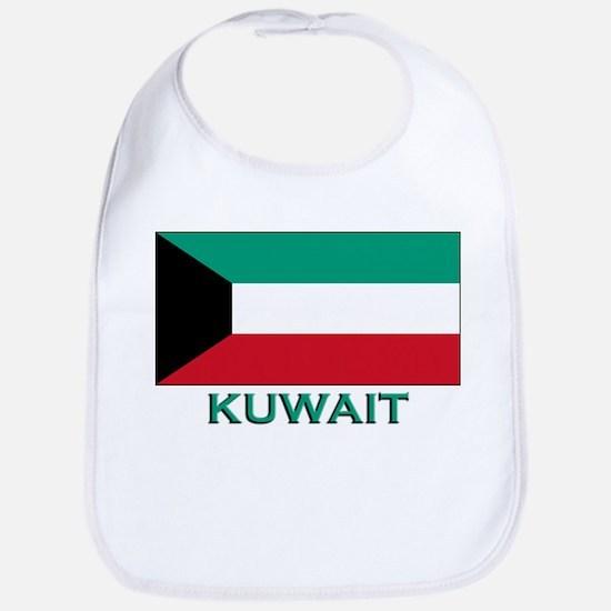 Kuwait Flag Merchandise Bib