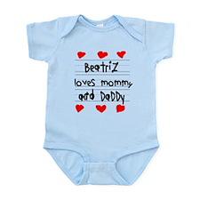 Beatriz Loves Mommy and Daddy Infant Bodysuit
