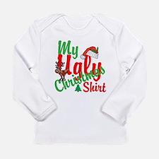 Ugly Christmas Shirt Long Sleeve Infant T-Shirt