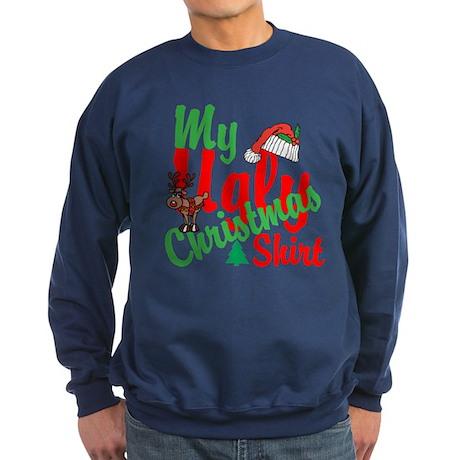 Ugly Christmas Shirt Sweatshirt (dark)