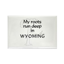 Wyoming Roots Rectangle Magnet