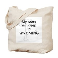 Wyoming Roots Tote Bag