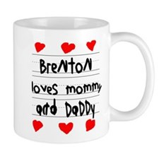 Brenton Loves Mommy and Daddy Mug
