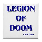 Legion of Doom Tile Coaster