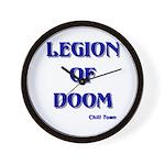 Legion of Doom Wall Clock