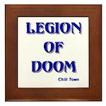 Legion of Doom Framed Tile