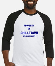 Property of Chill Town Baseball Jersey
