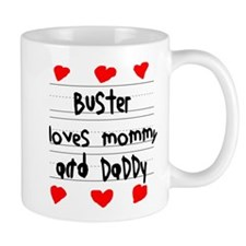 Buster Loves Mommy and Daddy Mug