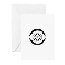 Mokko in rice cake Greeting Cards (Pk of 10)