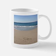 Hearts on the Beach Mug