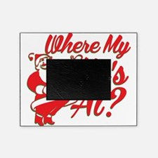 Where My Ho's At? Funny Christmas Funny Gift Pictu
