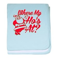 Where My Ho's At? Funny Christmas Funny Gift baby