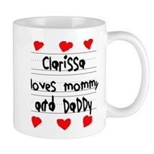 Clarissa Loves Mommy and Daddy Mug