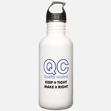 Quality Control Water Bottle