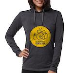 crazyabout_dark.png Womens Hooded Shirt