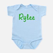 Rylee Glitter Gel Infant Bodysuit