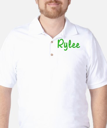 Rylee Glitter Gel Golf Shirt