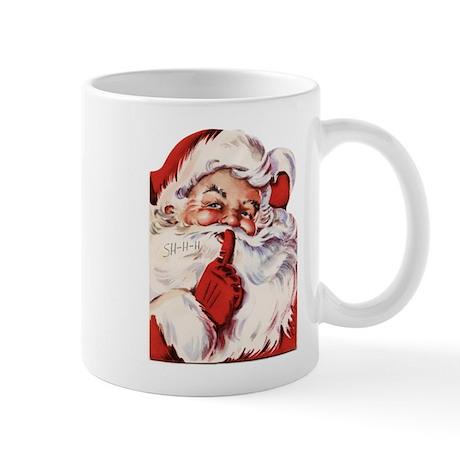 Vintage Santa Mug