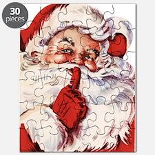 Vintage Santa Puzzle
