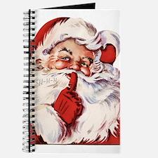 Vintage Santa Journal