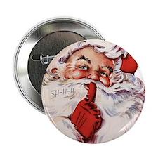 """Vintage Santa 2.25"""" Button (10 pack)"""