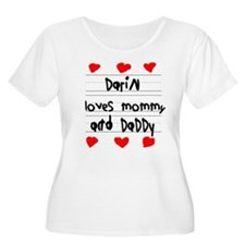 Darin Loves Mommy and Daddy T-Shirt