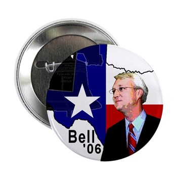 "Chris Bell, TX GOV 2.25"" Button (100 pack)"