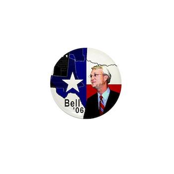 Chris Bell, TX GOV Mini Button (100 pack)