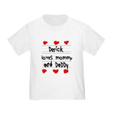Derick Loves Mommy and Daddy T
