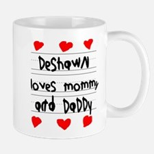 Deshawn Loves Mommy and Daddy Small Small Mug