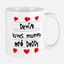 Devin Loves Mommy and Daddy Mug