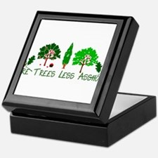 More Trees Less Assholes Keepsake Box