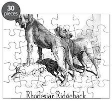 Rhodesian Ridgeback Vintage Puzzle