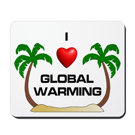 Global Warming Mousepad