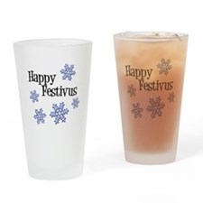 Happy Festivus Drinking Glass