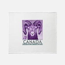 1953 Canada Bighorn Sheep Postage Stamp Stadium B