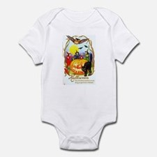Halloween Witches & Black Cat Infant Bodysuit