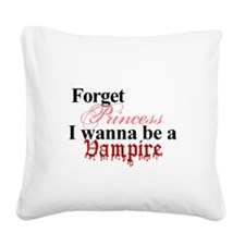 2-1princessvampire.png Square Canvas Pillow