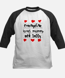 Evangeline Loves Mommy and Daddy Tee