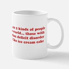ADD ADHD Funny Quote Humor - Red Mug