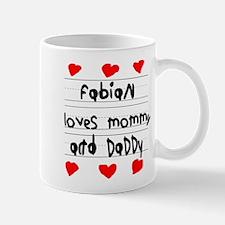 Fabian Loves Mommy and Daddy Mug