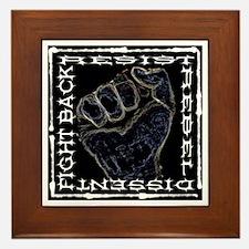 """""""Resistance Fist"""" Framed Tile"""