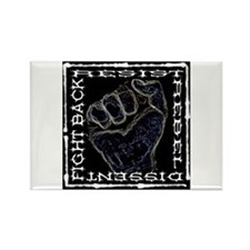 """Resistance Fist"" Rectangle Magnet (10 pack)"