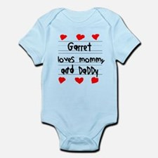 Garret Loves Mommy and Daddy Infant Bodysuit
